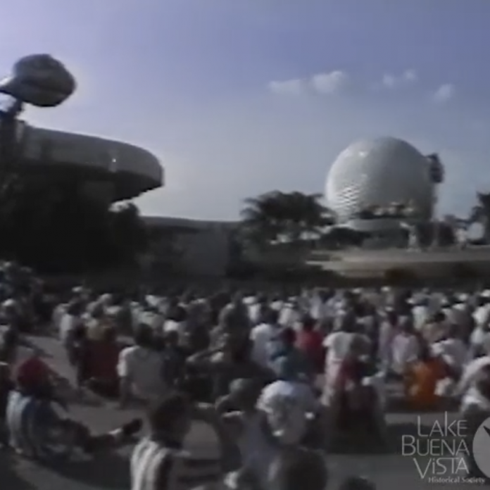 Restored video: Splashtacular at Epcot – 1994