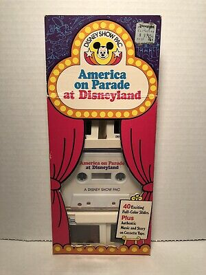 The Magic Kingdom at Walt Disney World – A Disney Show PAC – 35mm Slide/Narration Souvenir Set