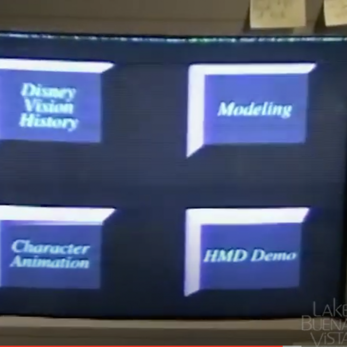 Restored home movie: Imagineering Lab at Epcot