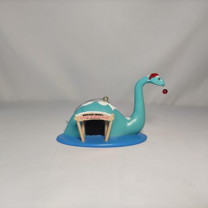 LBVHistory Announces Dino Gertie Holiday Ornament!
