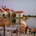 Thunder In Paradise - Grand Floridian with the Contemporary Resort in the background