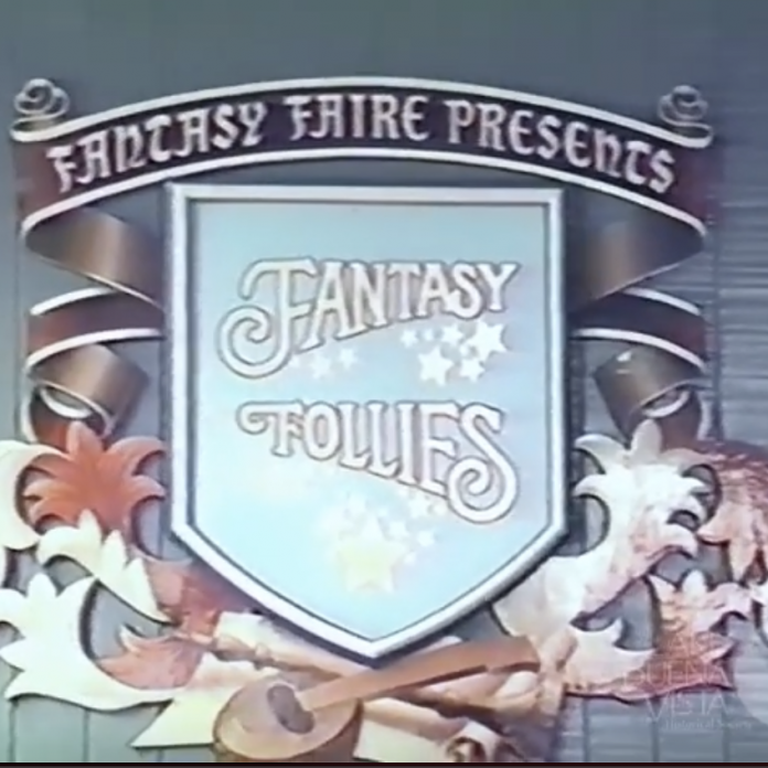 Restored Video: Fantasy Follies Stage Show (September 1983)