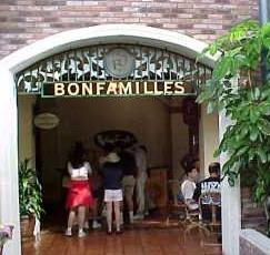Disney's Port Orleans Resort: Bonfamille's Cafe Menu – 1990