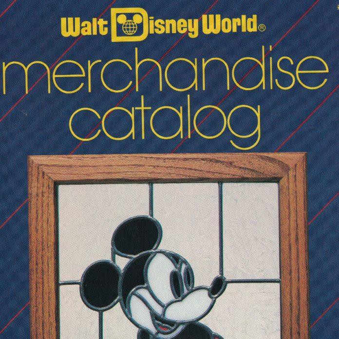 1986 Walt Disney World Merchandise Catalog