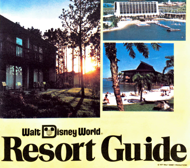 WDW Resort Guide from 1977